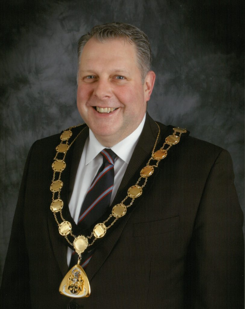 Mayor 2014-15 Richard sims