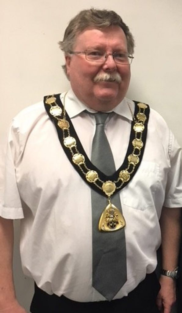 Mayor 2016-17 Barry Hester