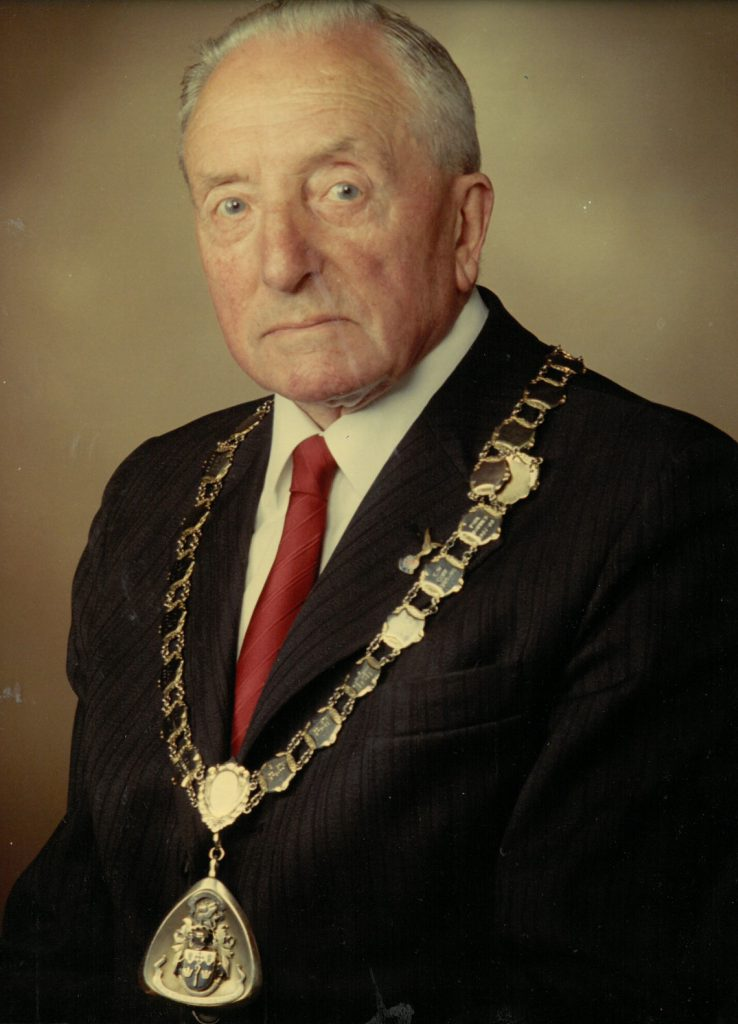 Mayor 1974-75 Alfred Powles