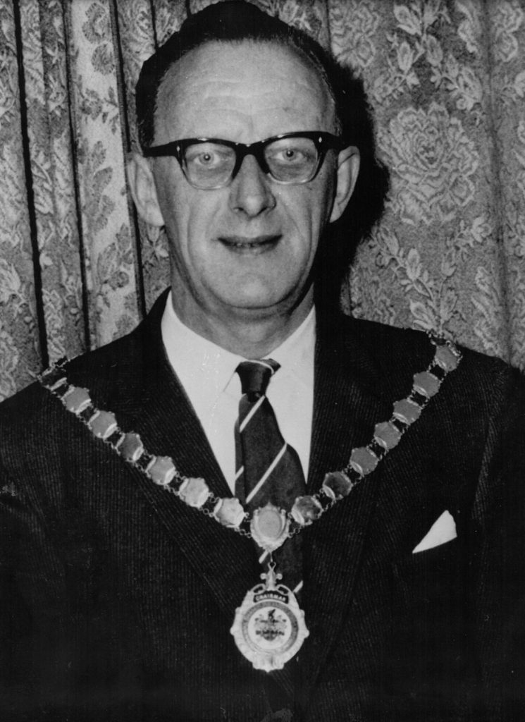 Mayor 1977-78 Cecil Hipperson