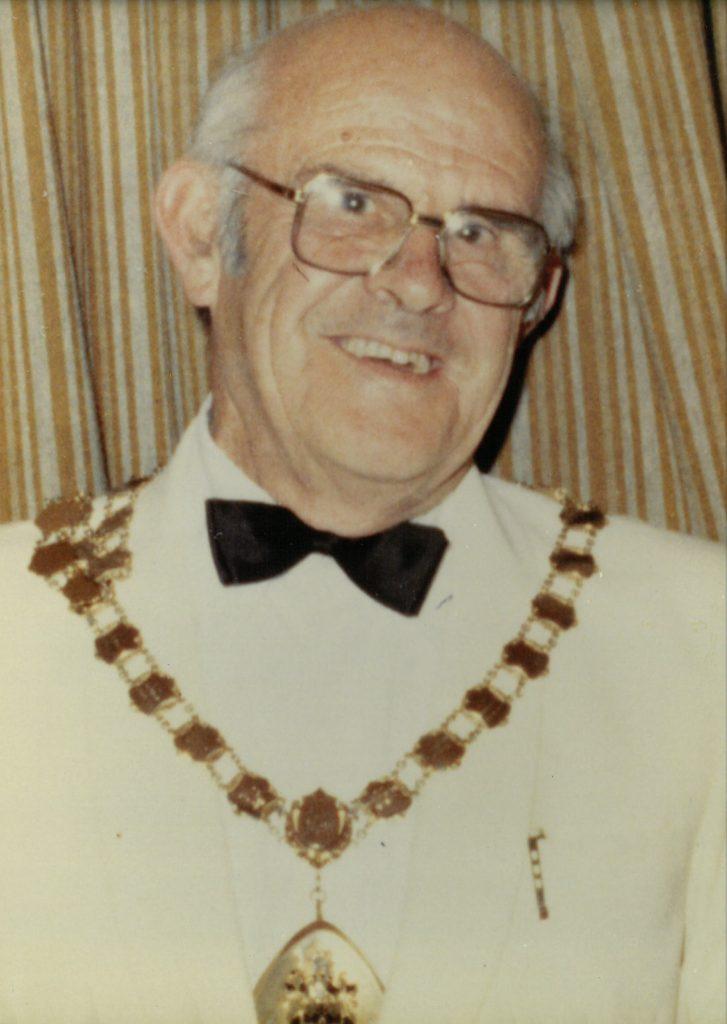 Mayor 1983-84 J.E. Masters