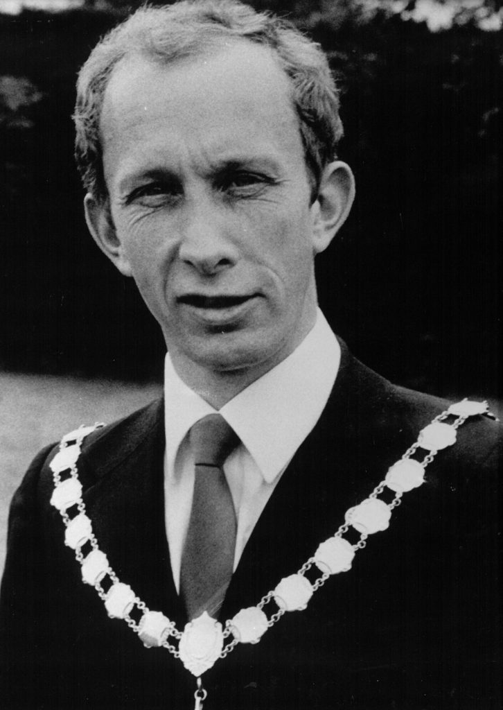 Mayor 1985-86 Chris Cork