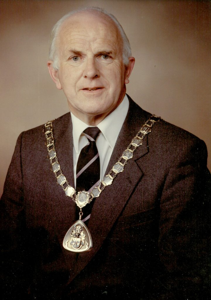 Mayor 1989-90 Hugh Palmer