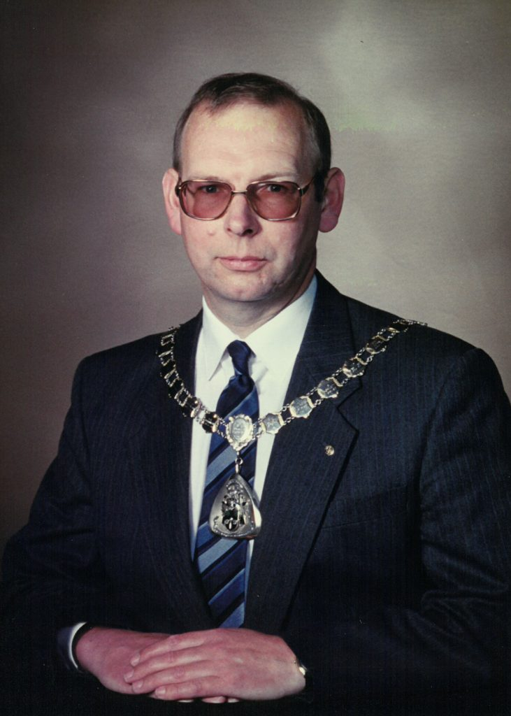 Mayor 1993-94 Nigel Horner-Glister