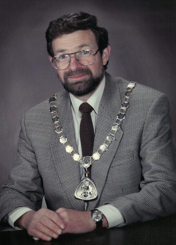 Mayor 1994-95 Jim Le-Grice