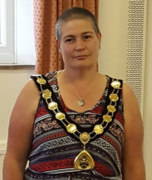 Mayor 2017-18 Sallie Stuckey