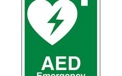 New Defibrillator at Bluebell Pub